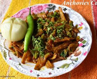 Dry Anchovies curry, Endu Nethalla kura, How to make dry anchovies curry