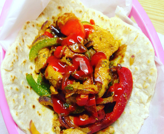easy peasy spicy fajitas