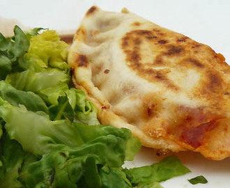 Naan fromage chorizo