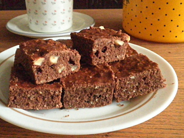 *EGG FREE CHOCOLATE BROWNIES*