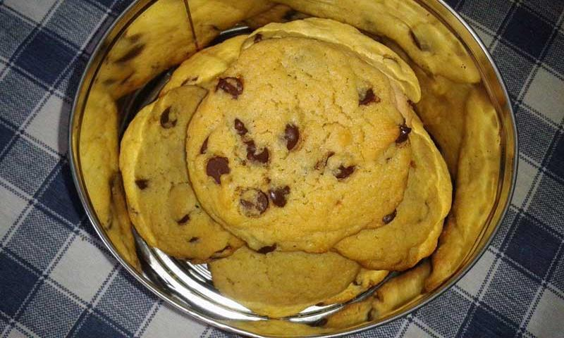 Chocolate Chip Cookies {Galletitas con gotas de Chocolate}