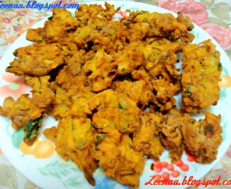 South Indian Style Onion Pakora