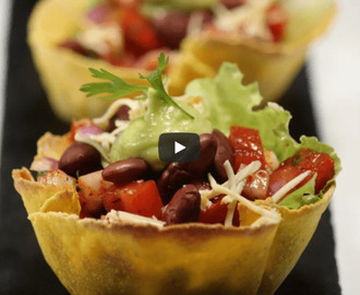 Taco Bowl Recipe Video