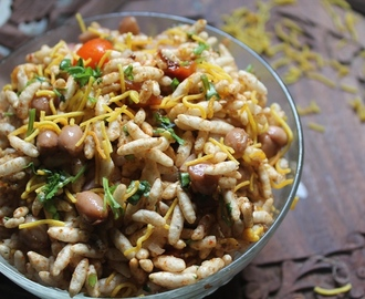 Healthy Bhel Chaat Recipe - Peanut Chaat Recipe