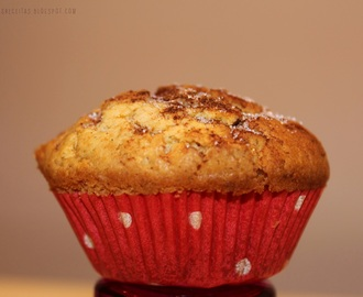 Muffins de Baunilha e Chocolate branco | White Chocolate and Vanilla Muffins