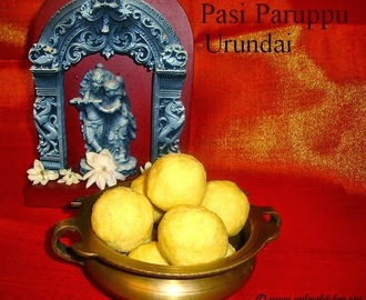 Pasi Paruppu Laddu Recipe / Nei Urundai Recipe / Pasi Paruppu Urundai Recipe / Yellow Moong Dal Ladoo Recipe
