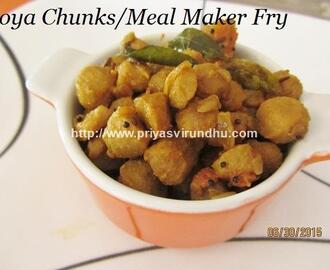 Meal Maker Fry/Soya Chunks Fry – Soya Chunks Stir Fry