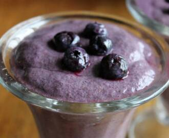 Blueberry Mousse