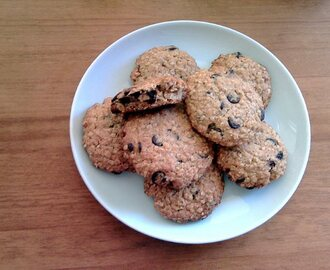 Cookies con Avena Quaker y Chocolate