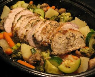 Tuscan Pork Roast (Weight Watchers)