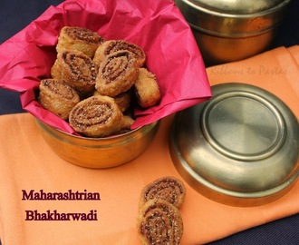 Bhakharwadi - Maharashtra Special for Indian Cooking Challenge