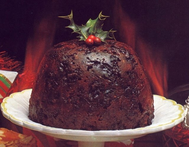 SPECIAL CHRISTMAS PLUM PUDDING