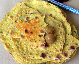 Masala Methi khakhra recipe - Crispy wheat roti recipe - Perfect teatime snack recipe