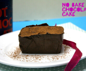 No Bake Chocolate Cake ~ No Bake Desserts