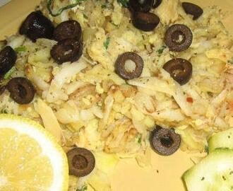 Portuguese Bacalhau à Brás (Salt Cod and Potatoes)