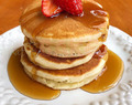 Super Easy Fluffy Pancakes