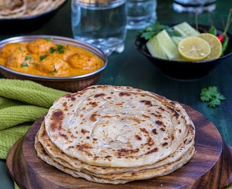Laccha Paratha \ Multi Layered Indian Flat Bread