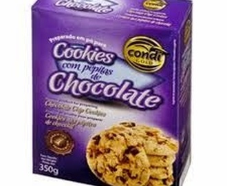 Review - Cookies de pepitas de chocolate da Condi
