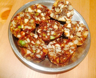 Dry fruits burfi | Fudge