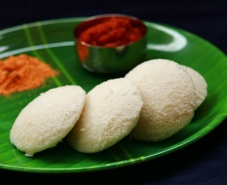 How To Make Idli Dosa Batter Using Mixie-Idli Recipe