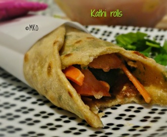 Kathi rolls/Paneer Kathi Rolls/North Vs south Challenge