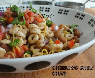 Cheerios bhel/Easy chat recipe/Party Idea