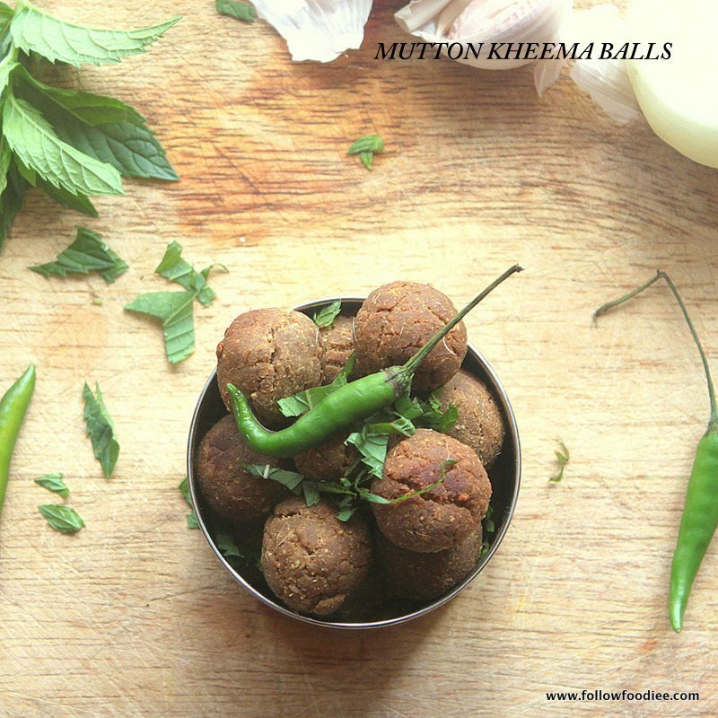 MUTTON KOLA URUNDAI | HOW TO MAKE MUTTON KHEEMA BALLS