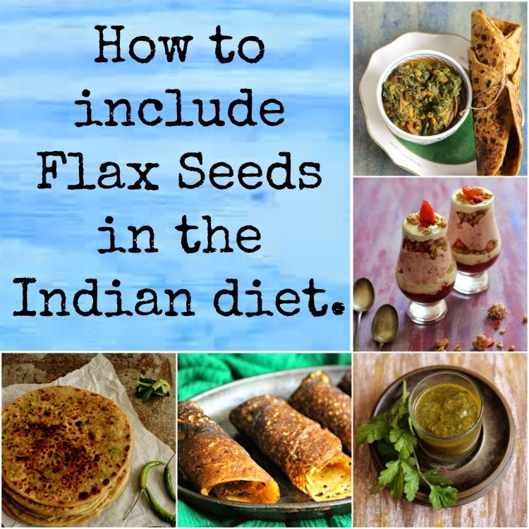 Tuesday's Tip- How to include Flax Seeds In The Indian diet?