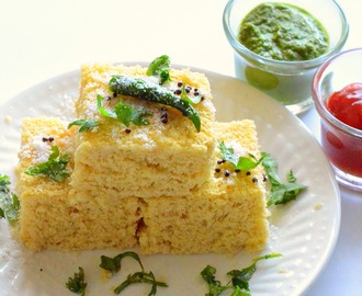 Whole Grain millet Dhokla Recipe | Thinai Maavu Dhokla |Foxtail millet dhokla - Dhokla Recipe