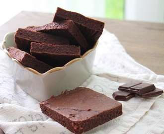 Sunne og saftige brownies