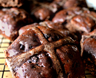 Hot Cross Buns... de chocolate!