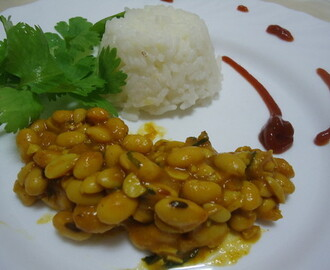 Soya Bean Curry (caril de feijão de soja)