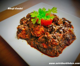 Bhaaji Gosht Recipe | Mutton Veggies