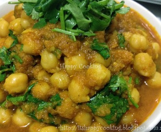 Kadala/Chickpea Curry