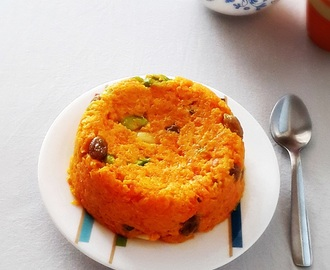 Carrot halwa recipe – Indian dessert Gajar halwa