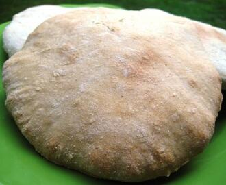 Khubz Arabi (Pita or Flat Bread)