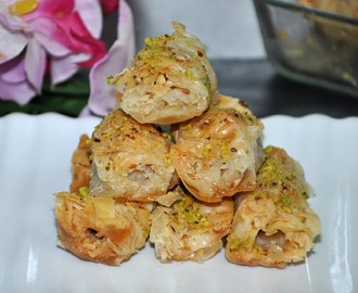 Guest Post:Baklava Rolls-A Turkish Delight!