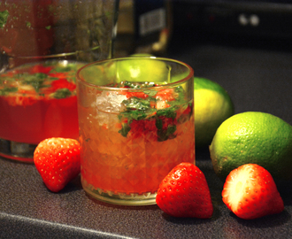 Oppskrift: strawberry mojito