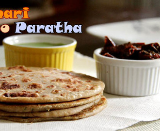 Achari Aloo Paratha | How to Make Aloo Paratha | Spicy Achari Aloo Paratha Recipe