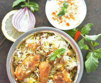 My 100th Blog Post Chicken Dum Biriyani