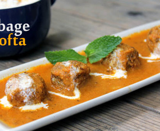Cabbage Kofta Recipe | How to Make Cabbage Kofta | Cabbage Kofta Curry