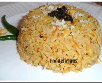 Soybean and Carrot Pilaf