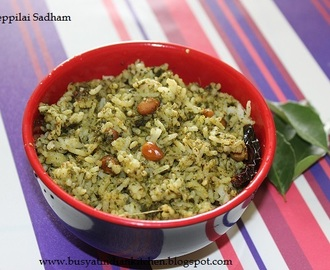 Karuveppilai Sadham (Curry Leaves Rice)