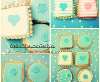 GALLETAS DECORADAS DE BAUTIZO AZUL