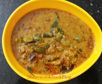 Capsicum Masala - How to make capsicum curry recipe the best way