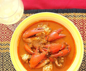 Konkani Crab Curry (Kurle Ambat)