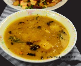 Aam Diye Dal - Sour Mango Lentil Preparation
