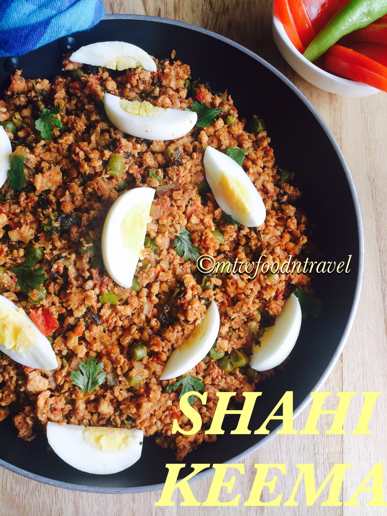 SHAHI KEEMA / CHICKEN MINCE - A ROYAL TOUCH