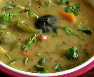 Bhatia Kadhi recipe from Gujarat