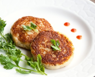Cheesy potato Cutlets